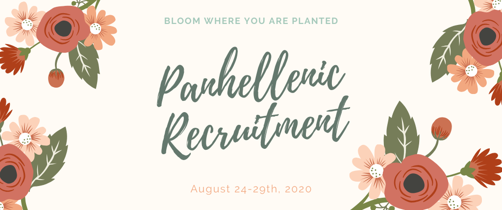 2020 Fall Sorority Recruitment