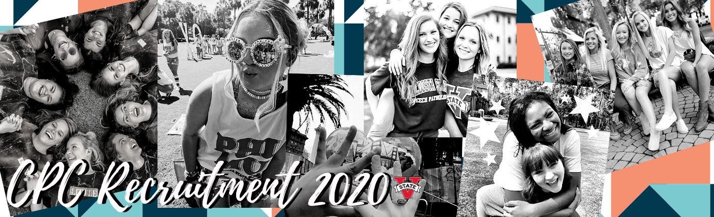 Fall 2020 Sorority Recruitment